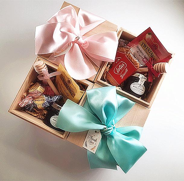 木盒喝茶禮 婚禮小物