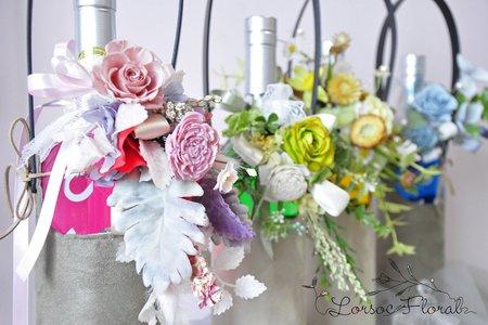 瓶花裝飾 花盒 伴娘禮 捧花禮