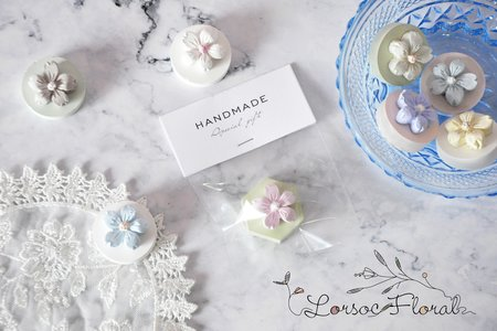 婚禮小物 位上禮 磁鐵擴香石