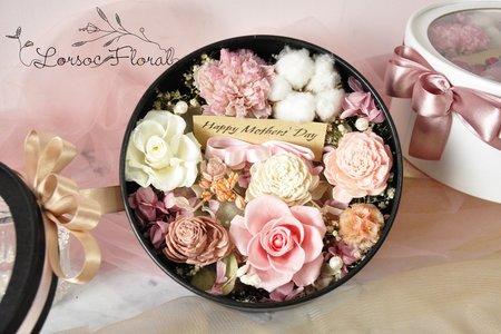 謝親恩禮 婚禮小物 花盒 抽紙條抽錢禮盒