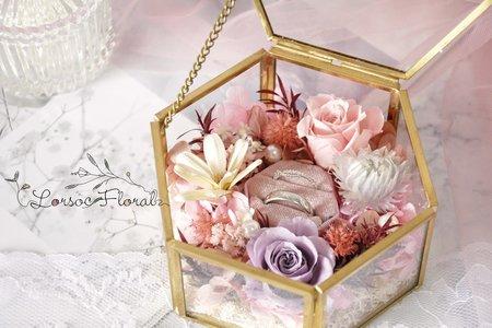 婚禮週邊 婚禮小物 戒指收納盒 珠寶盒