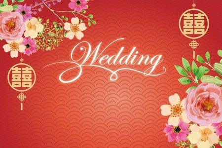婚禮背板挑選專區